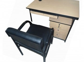 Computer table cum office executive desk with chair