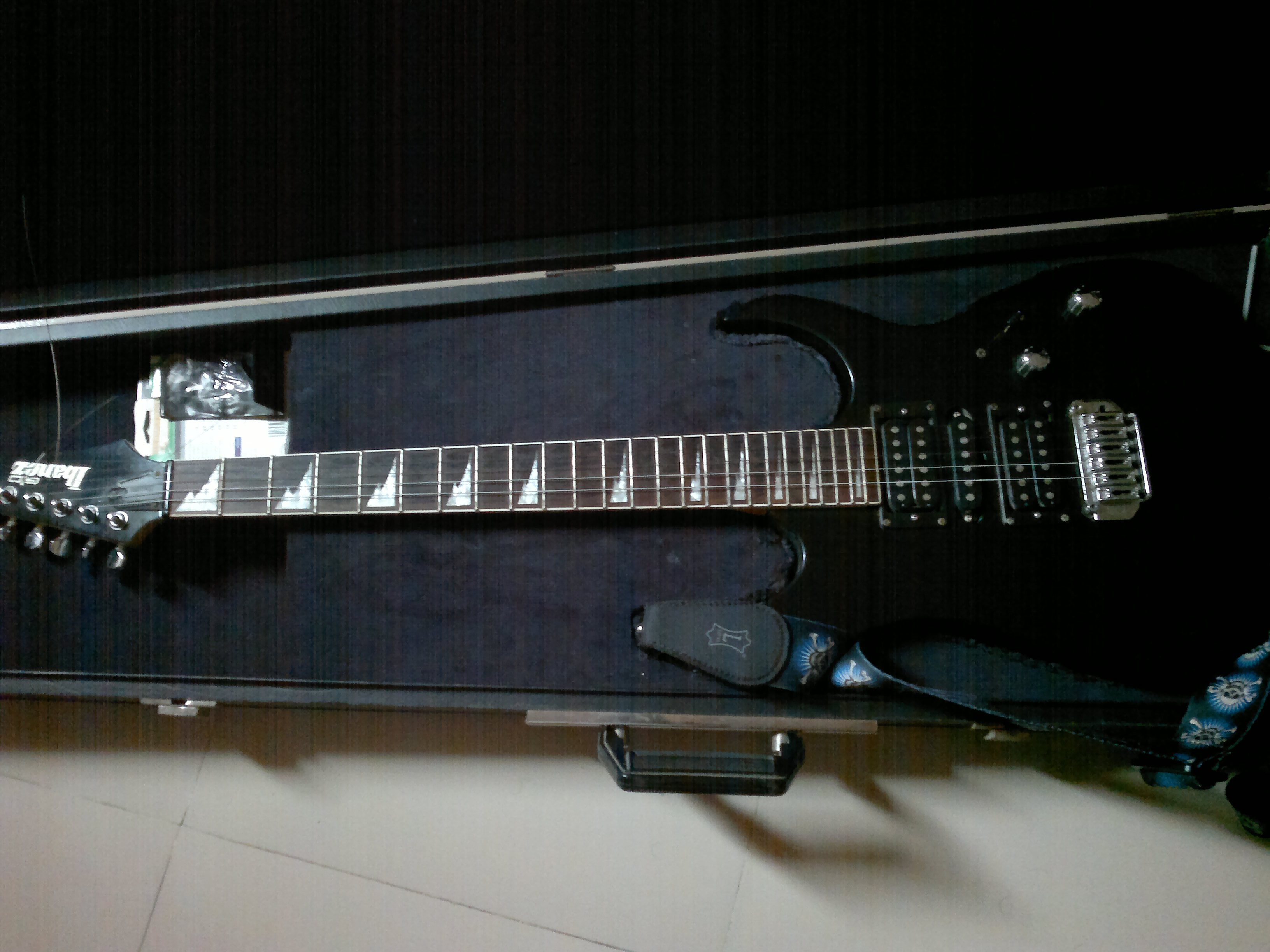 Ibanez Gio line 6 floor pod | ClickBD large image 0