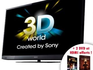 SONY BRAVIA FULL HD 3D 46 EX720 LED TV