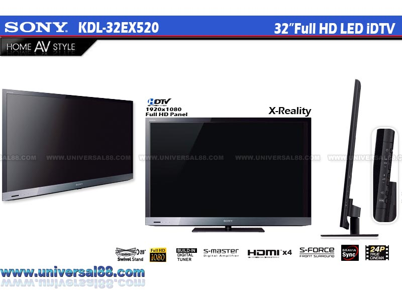 SONY BRAVIA EX520 40 INCH LED TV | ClickBD large image 0