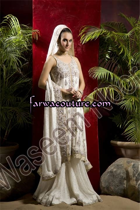 Bridal Wear Collection by Farwa Couture Pakistan | ClickBD large image 0