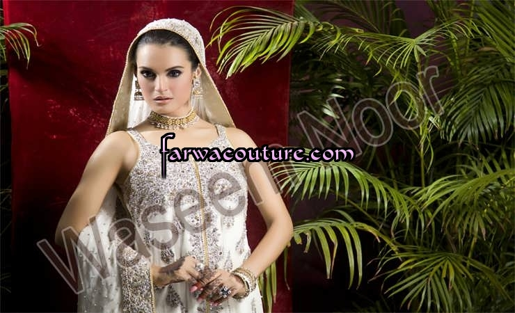 Bridal Wear Collection by Farwa Couture Pakistan | ClickBD large image 1