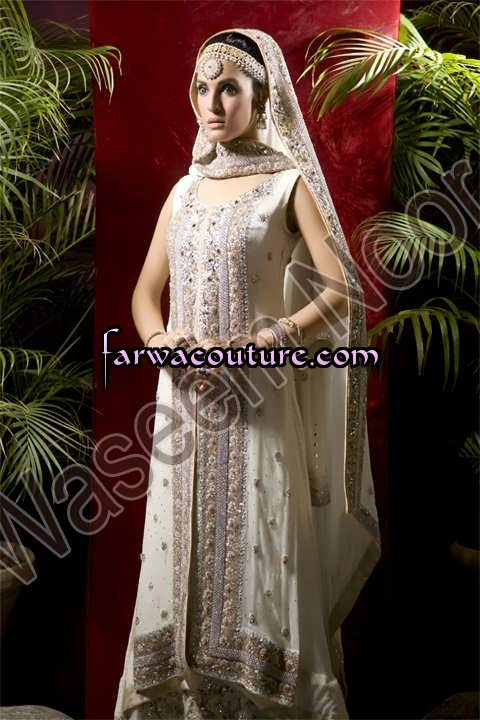 Bridal Wear Collection by Farwa Couture Pakistan | ClickBD large image 2