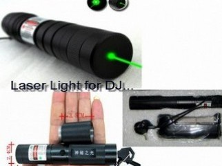 Green Laser Light....