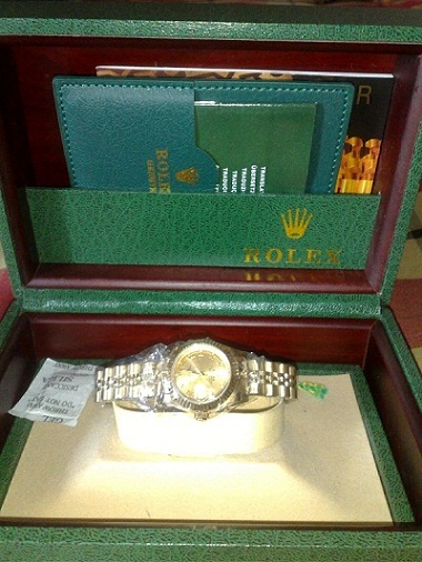 ROLEX COUPLE WATCH frm DUBAI SWISSMADE SEE INSIDE | ClickBD large image 1