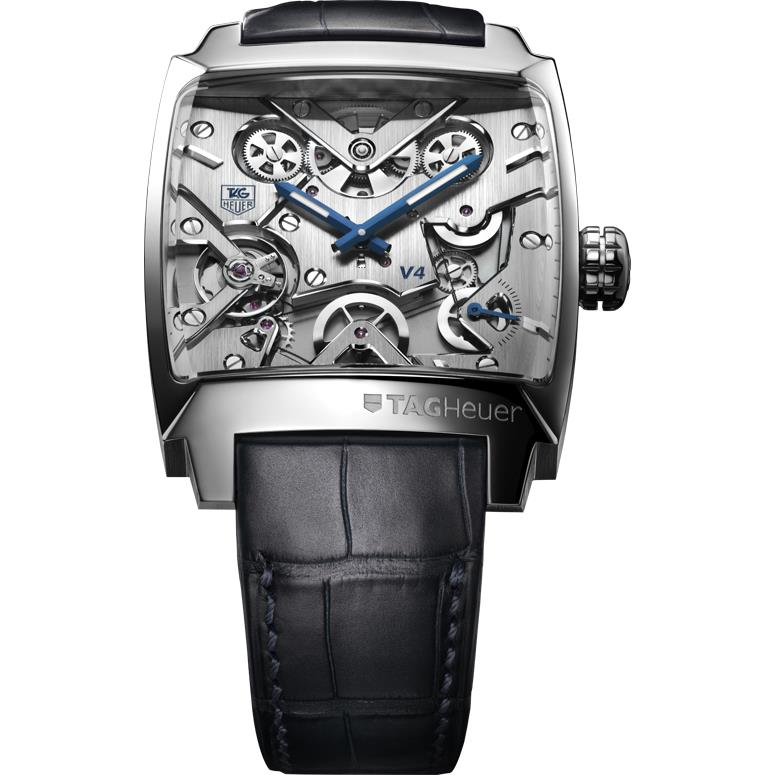 TAG HEUER MONACO V4 SEE INSIE  | ClickBD large image 0