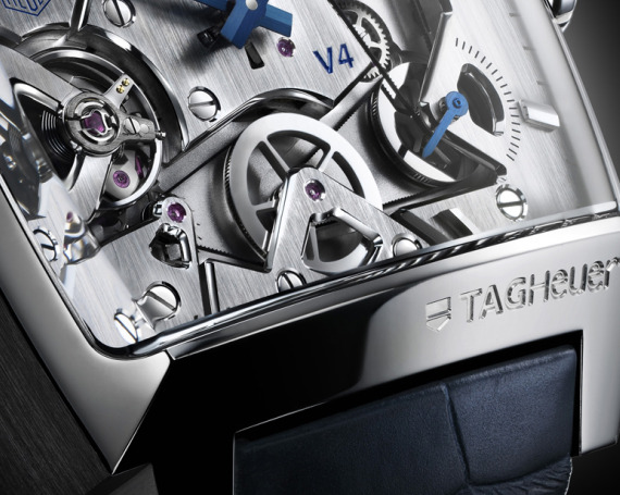 TAG HEUER MONACO V4 SEE INSIE  | ClickBD large image 1