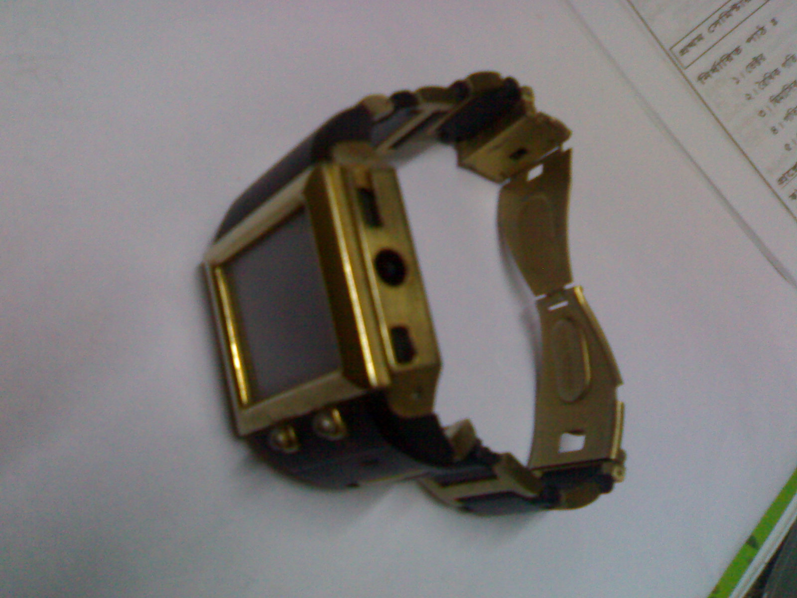 mobile wrist watch...touch... | ClickBD large image 0