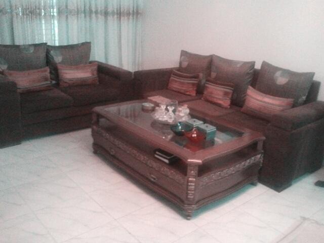 sofa set with a center table clickbd rh clickbd com