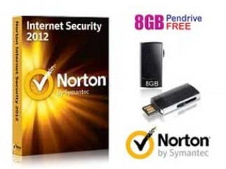 Norton Internet Security with a free 8 gb pendrive