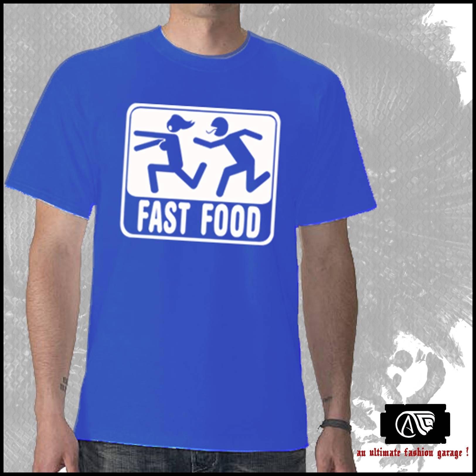 Fast Food - Size - M L XL DXL  | ClickBD large image 0