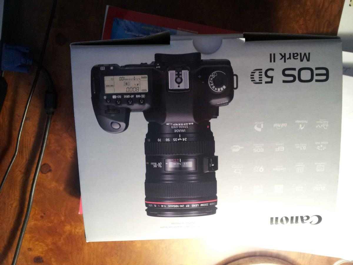 Canon eos 5d mark ii digital camera new clickbd for Canon 5d mark ii price
