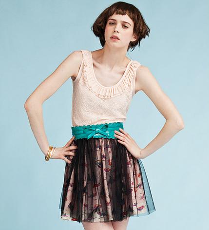 print chiffon skirts   ClickBD large image 1