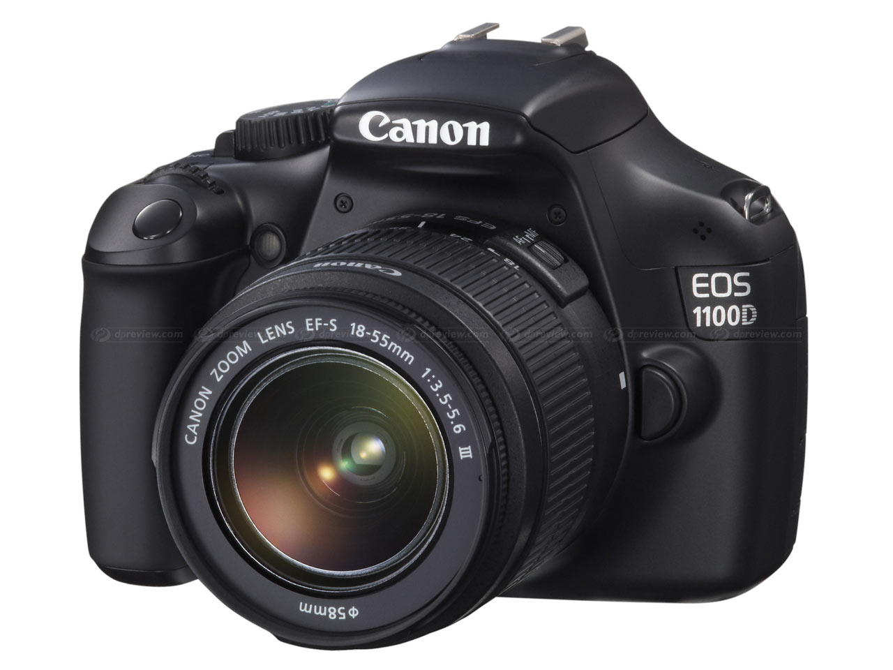 Boxed Canon EOS 1100D DSLR Camera With 18 55mm Kit Lens