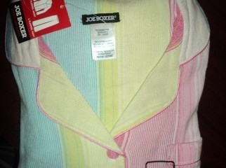 JOE BOXER Ladies cotton woven sleep wear