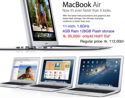 New MacBook Air J26 | ClickBD large image 0