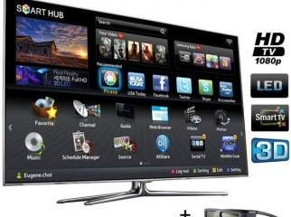 46 SAMSUNG 3D SMART LED TV MODEL D6600