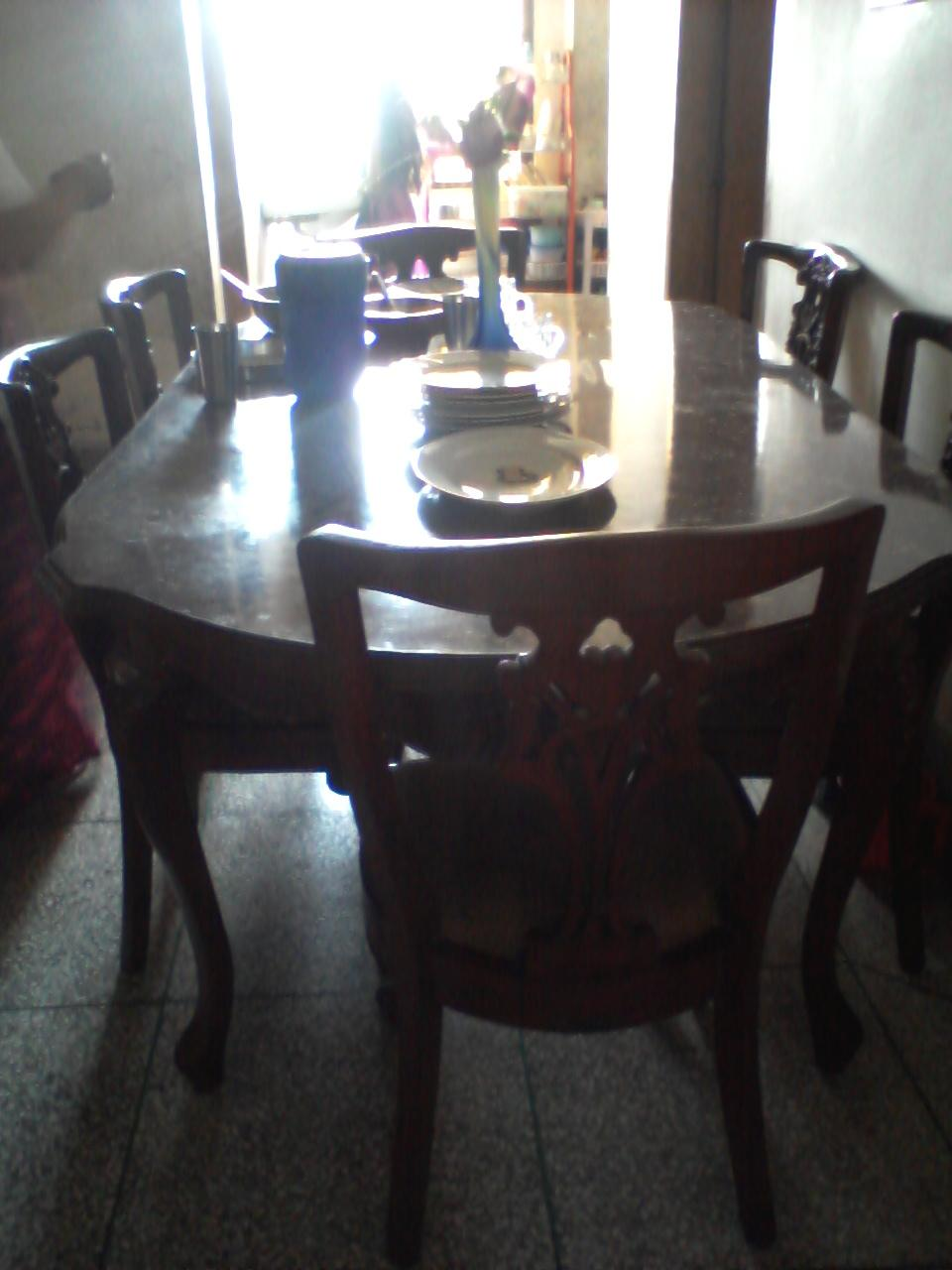 Large dining table with chairs clickbd