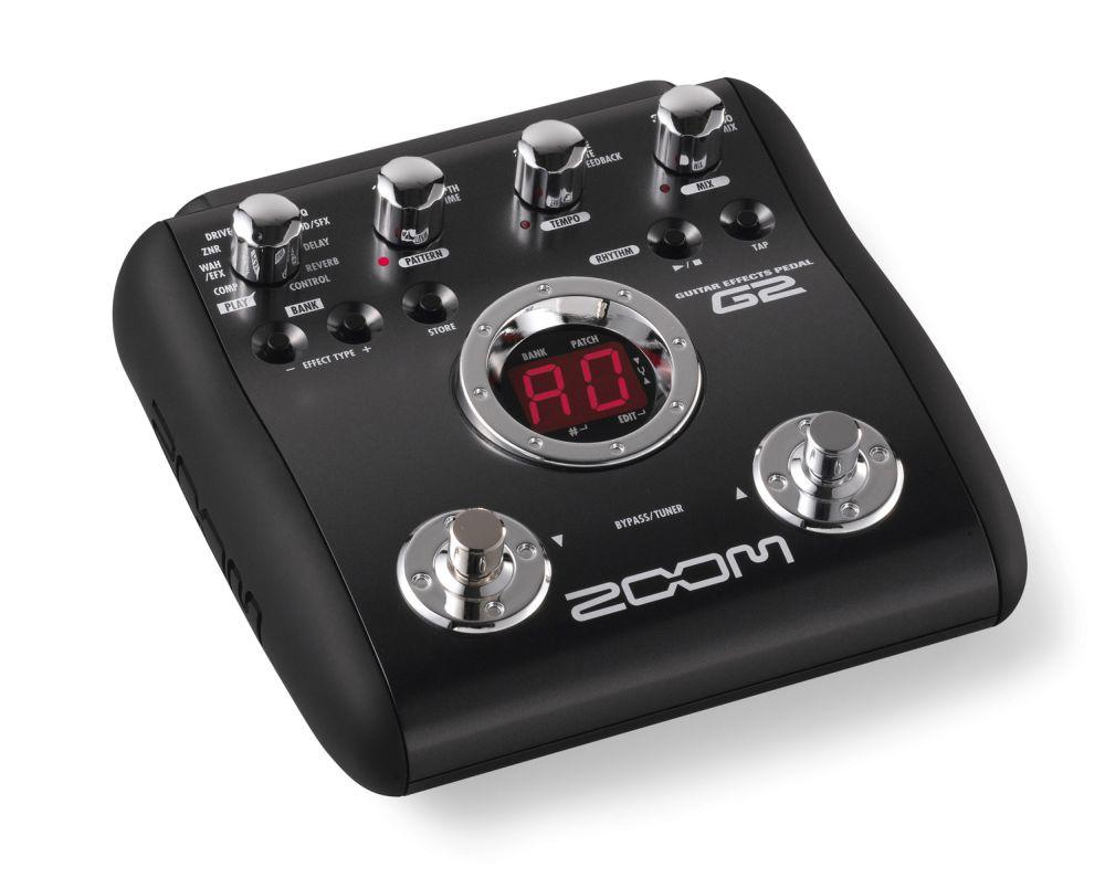 zoom g2 guitar multi effects pedal original dsp zfx 3 clickbd. Black Bedroom Furniture Sets. Home Design Ideas