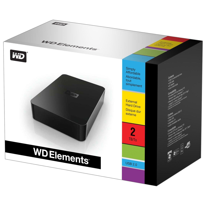 52e9c1e030e 2TB External Hard Disk WD LOWEST PRICE