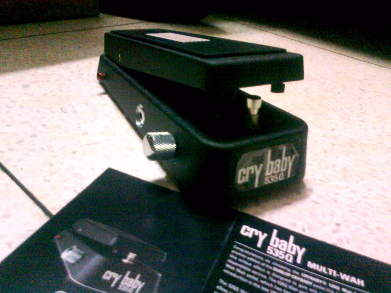 Dunlop Crybaby 535Q wah with jim dunlop fasel inductor | ClickBD large image 0