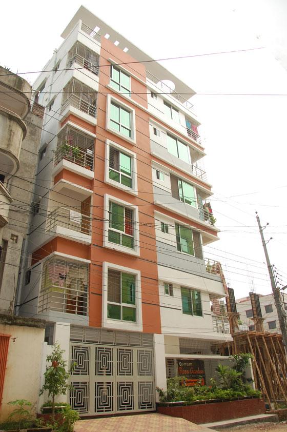 Uttara apartment for sale quantum rose garden clickbd for Bangla house photo