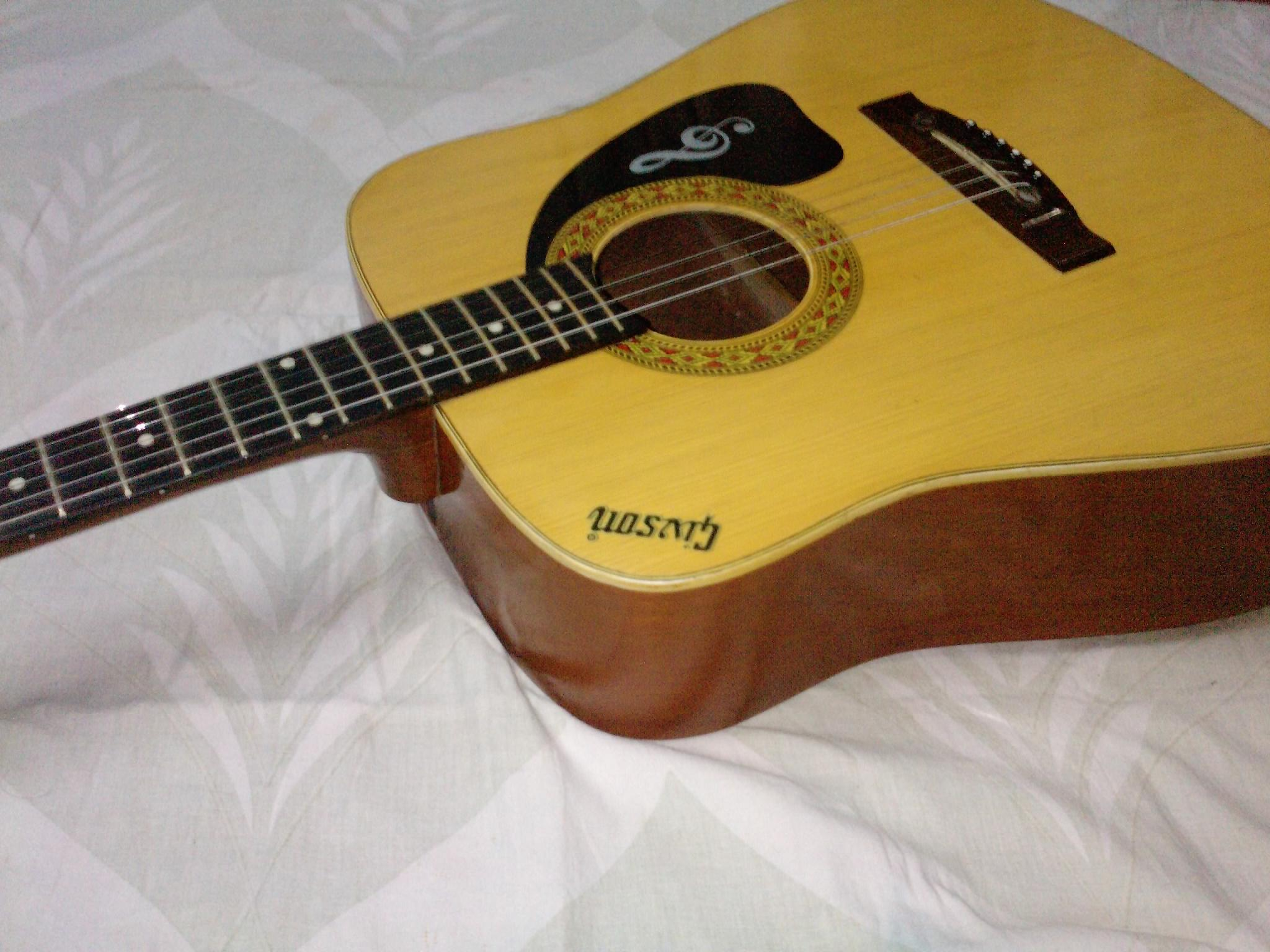 Gibson Jumbo Acoustic Indian Clickbd