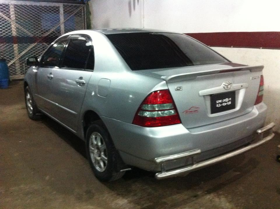 Toyota Pay By Phone >> COROLLA X SILVER 2003   ClickBD