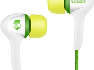 Skullcandy Smokin Buds In Ear Earbuds with Mic- White USA