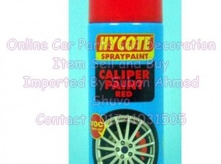 Hycote Red Caliper Paint Brake Spray Paint High Temp 400ml