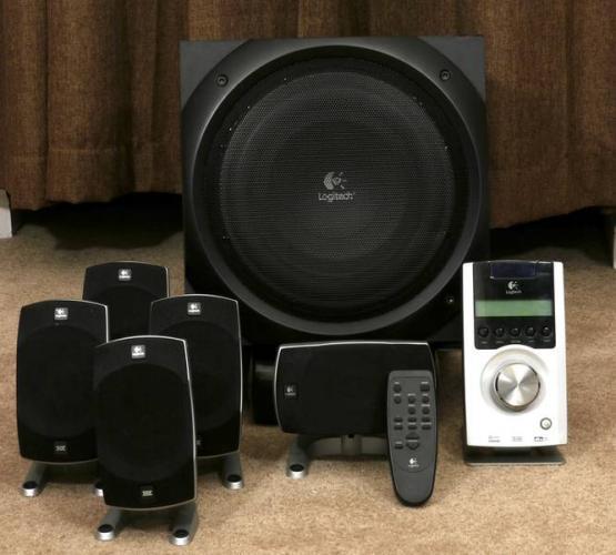 e6fe406d62f Logitech Z-5500 Digital Speaker | ClickBD large image 1