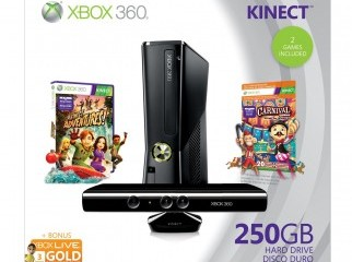 XBOX360 KINECT 250GB . new phone number 01918534062