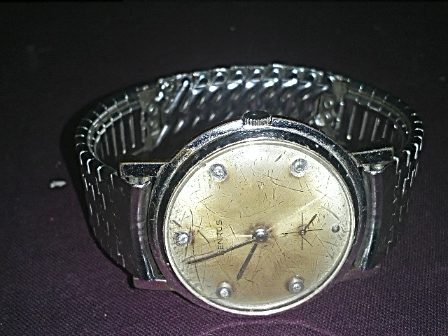 BENRUS Side Second Regular Antique Wrist Watch - 01611221444 | ClickBD large image 0