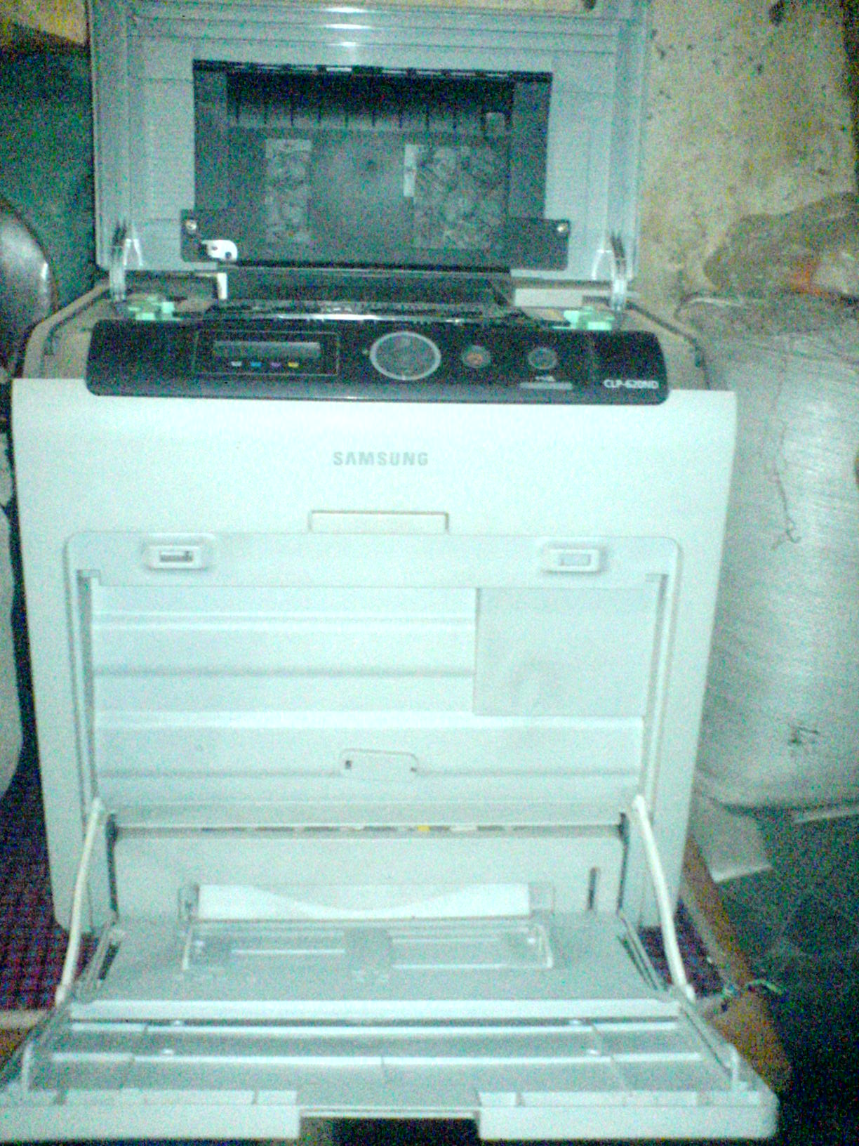 Samsung CLP-620ND Color Laser Printer | ClickBD large image 1