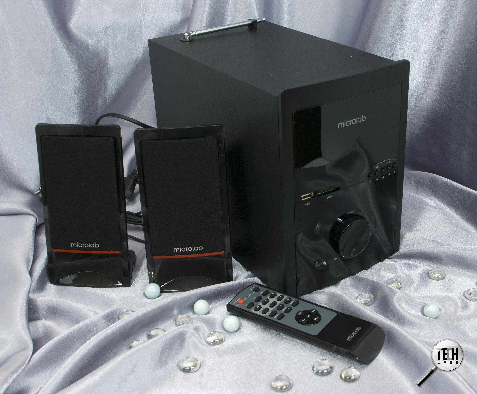 Microlab M700u 2.1 speaker system | ClickBD large image 0