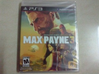 Ps3 Game: Max Payne 3 For SELL