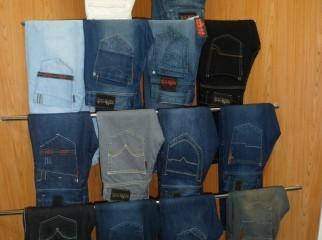 THAI quality branded mens jeans denim for Showroom