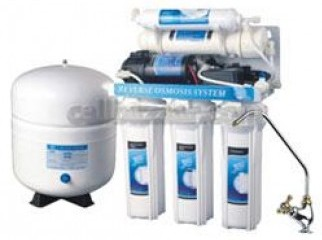 Standard 5-Stage RO System with pump RO-50G 75G 100G-A01