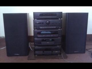 Kenwood HIFI System Sony AMP