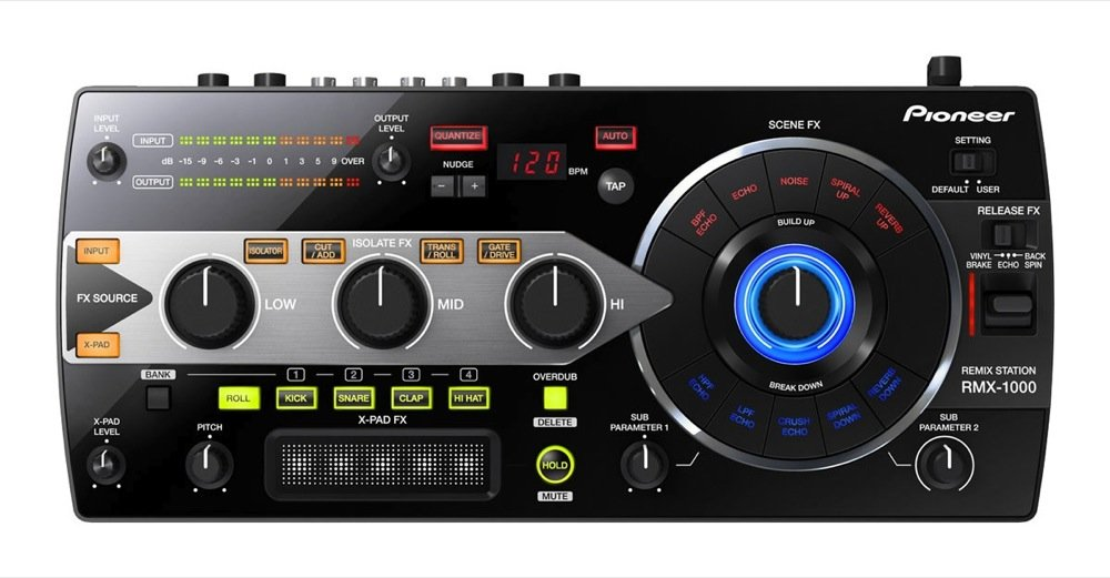 Pioneer RMX-1000 Remix Station Performance DJ Controller | ClickBD large image 0
