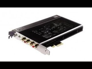 Creative X-Fi Titanium HD Logitech Z-5500 THX 5.1