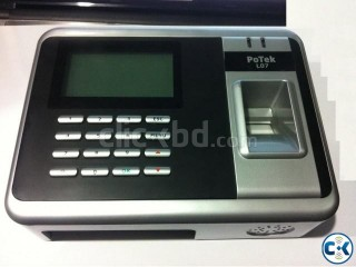 New Finger print Time Attendance system