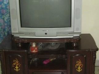 Toshiba Bomba 30 inch TV with rack