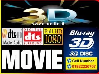 3D 1080p Bluray Movie