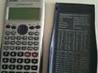A shortly used CASIO 991 ES scientific calculator