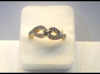 Finger Ring-124 American Diamond