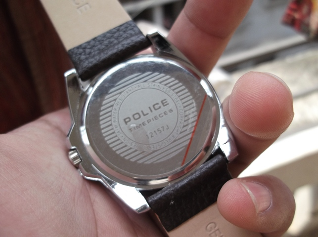POLICE - Date Window Watch - Rare Edition- Came from USA  | ClickBD large image 2