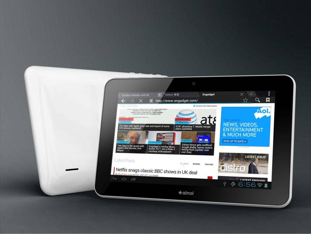Ainol Novo android 4.0 tablet PC 7 Ainol Novo 7 Aurora 2 ...