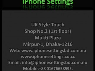 Unlock iPhone iPhone Settings