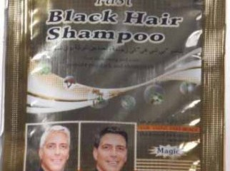 Fast Magic Black Hair Shampoo